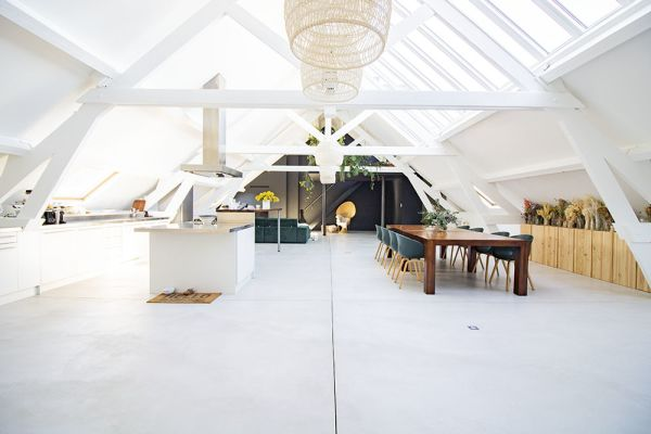 Photo d'une salle à louer à Anderlecht, Bruxelles, Dans le loft d'Elo 20619