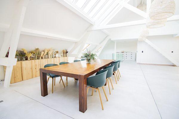 Photo d'une salle à louer à Anderlecht, Bruxelles, Dans le loft d'Elo 20621