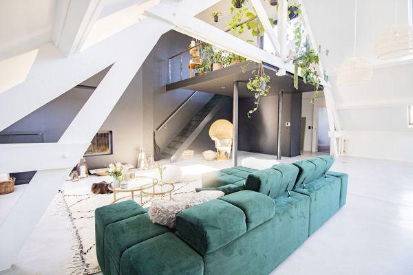 Photo d'une salle à louer à Anderlecht, Bruxelles, Dans le loft d'Elo 20624
