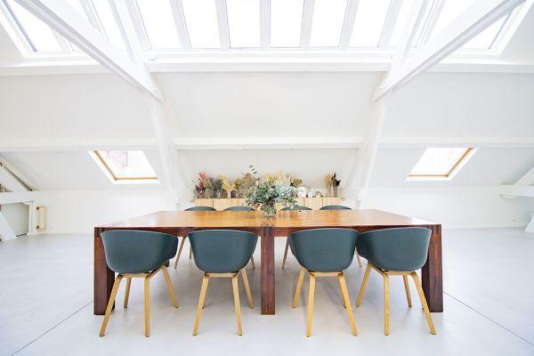 Photo d'une salle à louer à Anderlecht, Bruxelles, Dans le loft d'Elo 20629