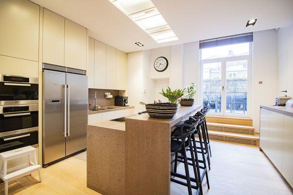 Photo d'une salle à louer à Elsene, Bruxelles, Dans la maison de Quentin 20652