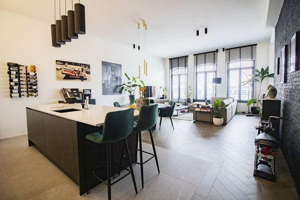 Photo d'une salle à louer à Antwerp, Anvers, Dans l'appartement de Maxim 20727