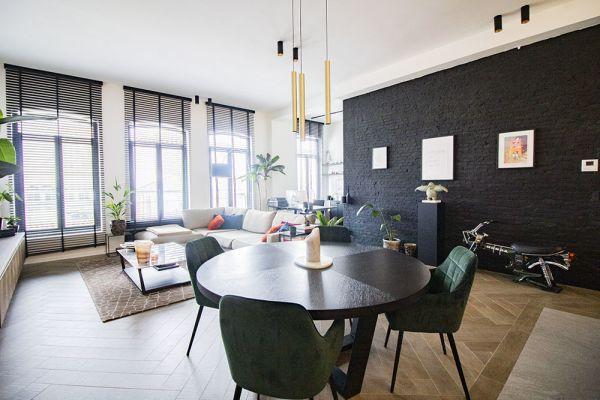 Photo d'une salle à louer à Antwerp, Anvers, Dans l'appartement de Maxim 20731