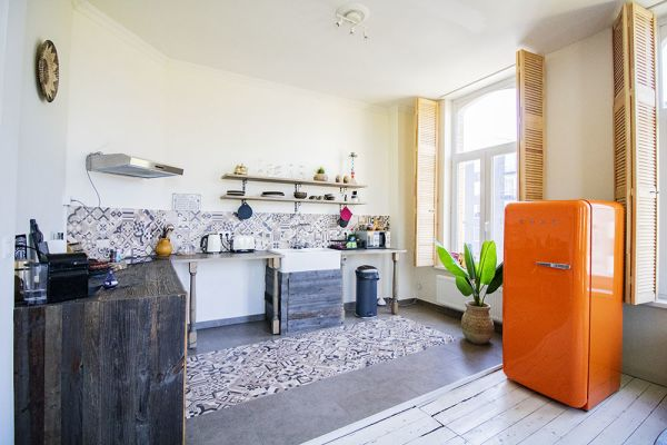 Photo d'une salle à louer à Antwerp, Anvers, Dans l'appartement d'Aladin 21138
