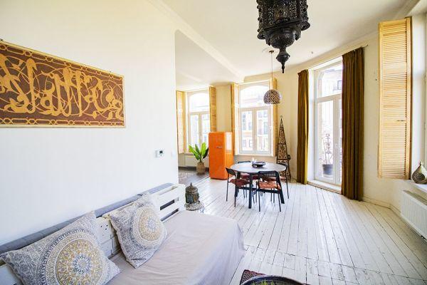 Photo d'une salle à louer à Antwerp, Anvers, Dans l'appartement d'Aladin 21144