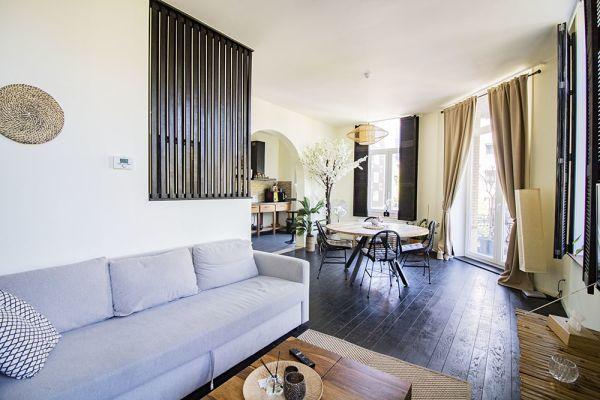 Feestzaal verhuren in Antwerp, Antwerpen, In het appartement van Akiko 21195