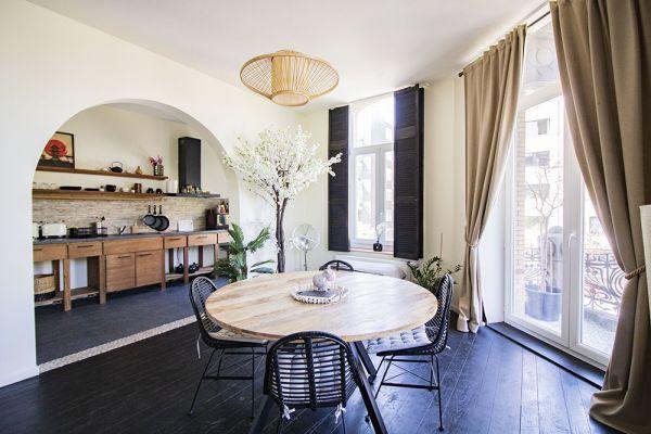 Feestzaal verhuren in Antwerp, Antwerpen, In het appartement van Akiko 21197