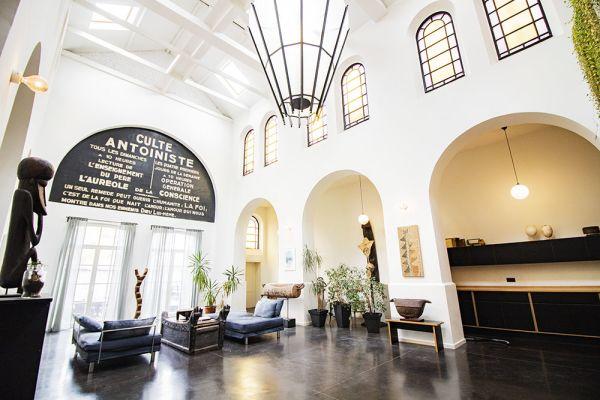 Photo d'une salle à louer à Forest, Bruxelles, Dans l'église de Georges 21481
