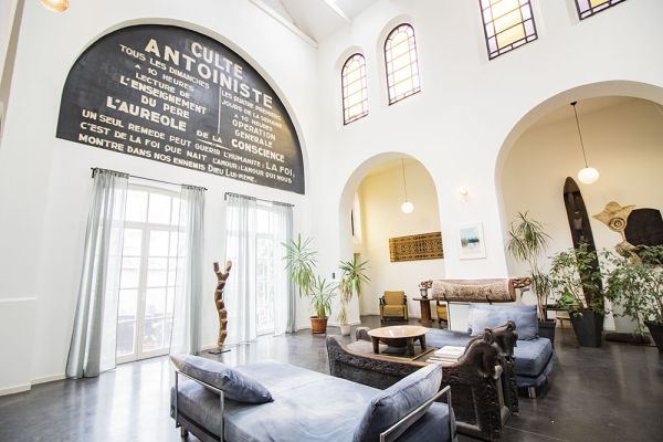 Photo d'une salle à louer à Forest, Bruxelles, Dans l'église de Georges 21484