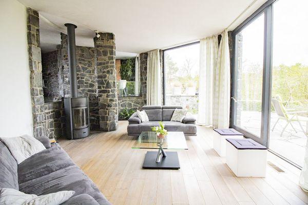 Photo d'une salle à louer à Burdinne, Liège, Dans la maison de Françoise 21576