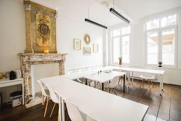 Photo d'une salle à louer à Ensival, Liège, Dans les bureaux de Roman 21587