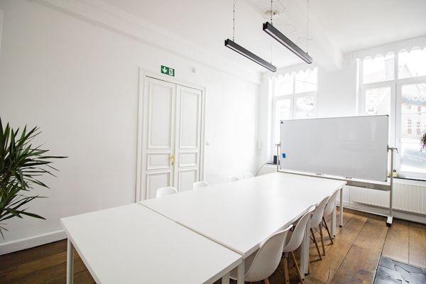 Photo d'une salle à louer à Ensival, Liège, Dans les bureaux de Roman 21594