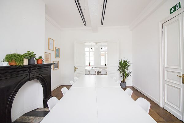 Photo d'une salle à louer à Ensival, Liège, Dans les bureaux de Roman 21597