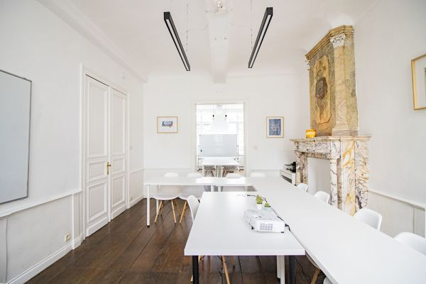 Photo d'une salle à louer à Ensival, Liège, Dans les bureaux de Roman 21598
