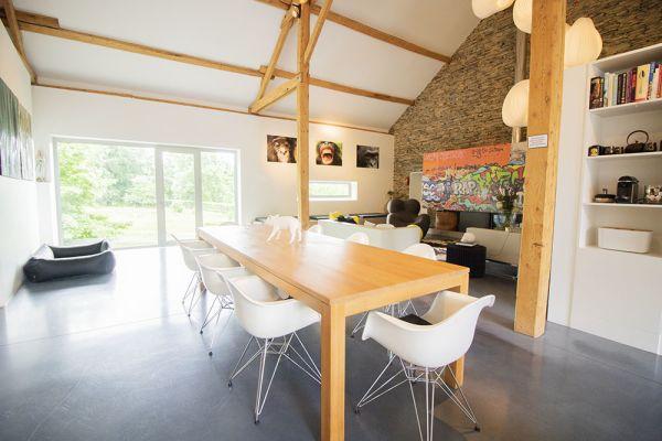 Photo d'une salle à louer à Grandvoir, Luxembourg, Dans la grange d'Anna 21929
