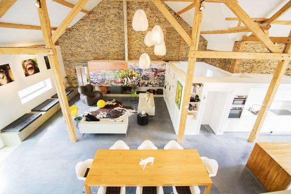 Photo d'une salle à louer à Grandvoir, Luxembourg, Dans la grange d'Anna 21935