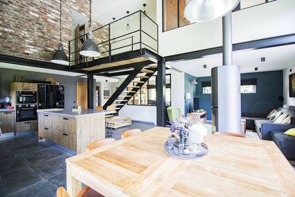 Photo d'une salle à louer à Cornesse, Liège, Dans la maison d'Emilie & Jérôme 21952