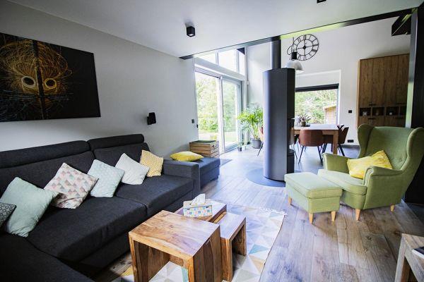 Photo d'une salle à louer à Cornesse, Liège, Dans la maison d'Emilie & Jérôme 21954