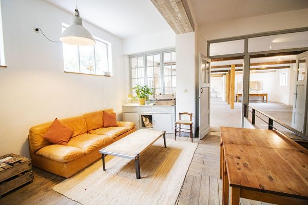 Picture of an event venue rental in Uccle, Brussels, Inside Clara's workshop 22018