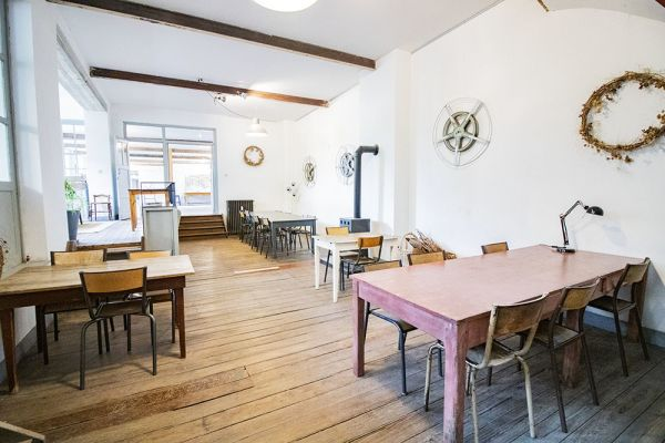 Picture of an event venue rental in Uccle, Brussels, Inside Clara's workshop 22020