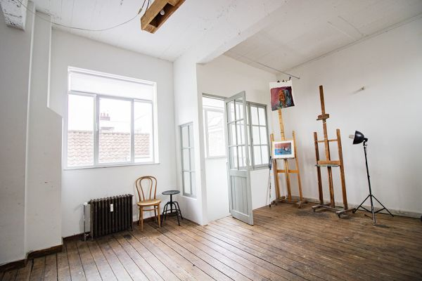 Picture of an event venue rental in Uccle, Brussels, Inside Clara's workshop 22026