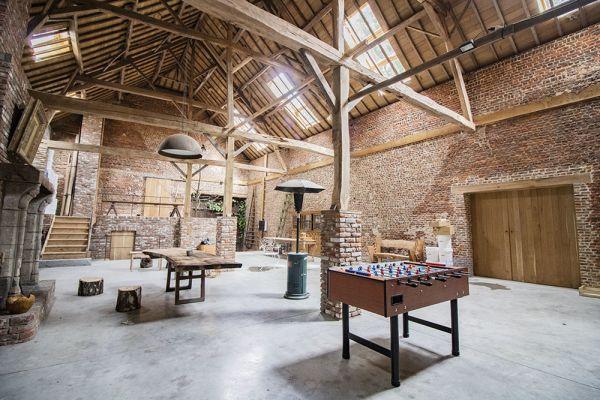 Photo d'une salle à louer à Ittre, Brabant Wallon, Dans la grange de Victoria 22037