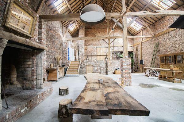 Photo d'une salle à louer à Ittre, Brabant Wallon, Dans la grange de Victoria 22038