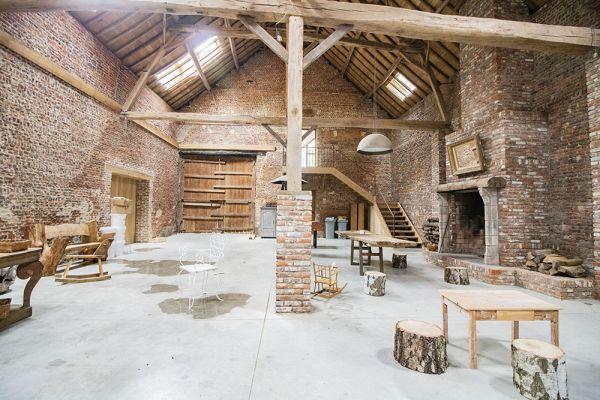 Photo d'une salle à louer à Ittre, Brabant Wallon, Dans la grange de Victoria 22041