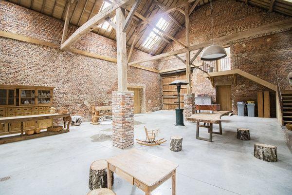 Photo d'une salle à louer à Ittre, Brabant Wallon, Dans la grange de Victoria 22043
