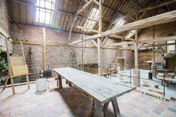 Photo d'une salle à louer à Ittre, Brabant Wallon, Dans la grange de Victoria 22045