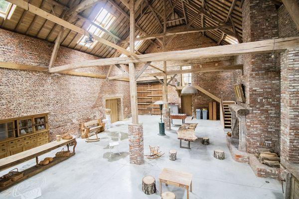 Photo d'une salle à louer à Ittre, Brabant Wallon, Dans la grange de Victoria 22046