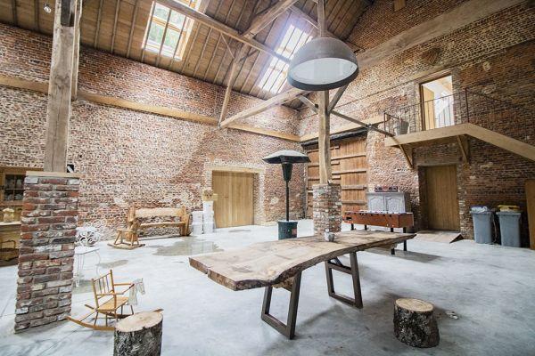 Photo d'une salle à louer à Ittre, Brabant Wallon, Dans la grange de Victoria 22047