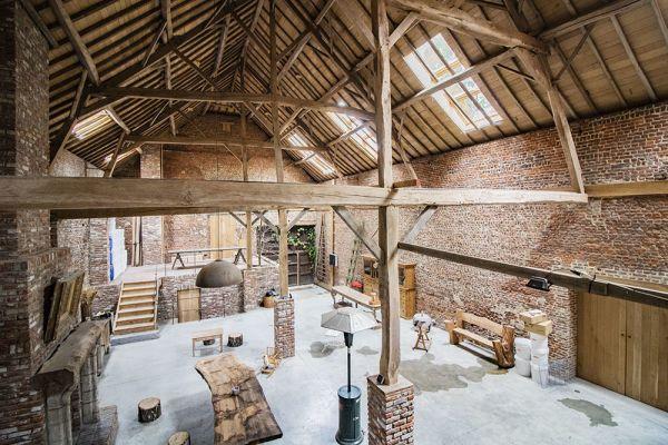 Photo d'une salle à louer à Ittre, Brabant Wallon, Dans la grange de Victoria 22048