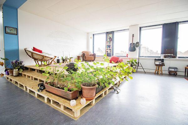 Picture of an event venue rental in Elsene, Brussels, Inside Vinicius' loft 22178