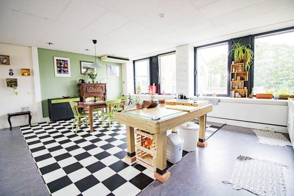 Picture of an event venue rental in Elsene, Brussels, Inside Vinicius' loft 22180