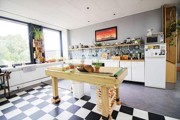 Picture of an event venue rental in Elsene, Brussels, Inside Vinicius' loft 22183