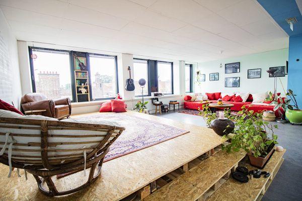 Picture of an event venue rental in Elsene, Brussels, Inside Vinicius' loft 22184