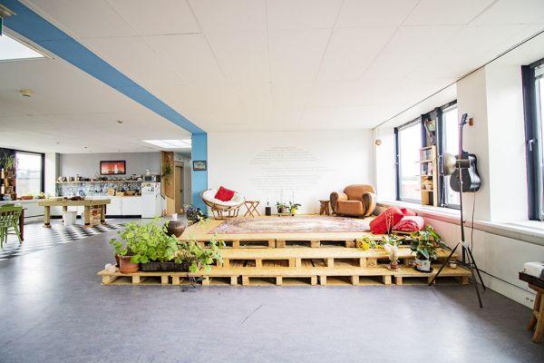 Picture of an event venue rental in Elsene, Brussels, Inside Vinicius' loft 22187