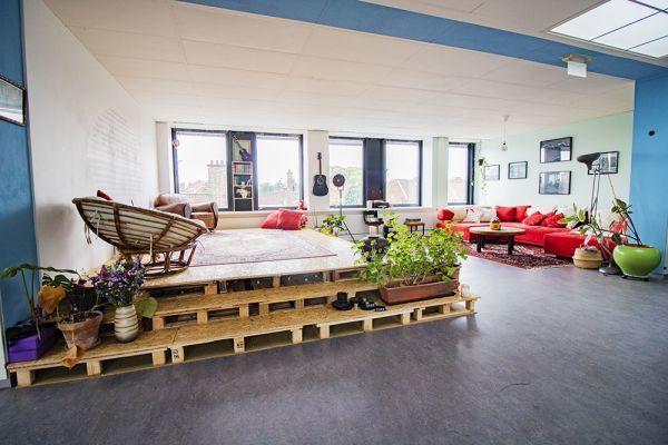 Picture of an event venue rental in Elsene, Brussels, Inside Vinicius' loft 22188