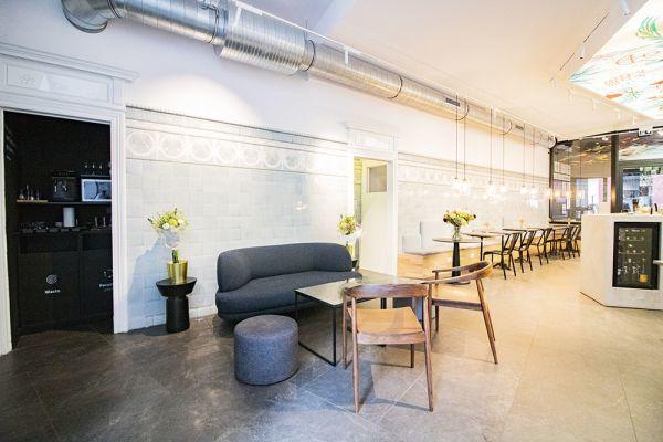 Photo d'une salle à louer à Elsene, Bruxelles, Dans le studio de Christophe 22225