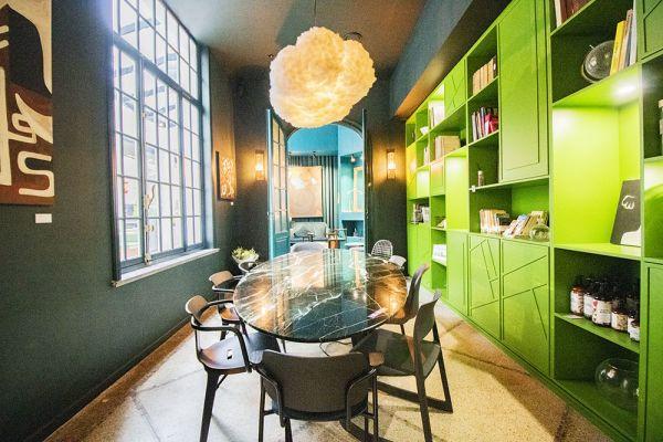 Photo d'une salle à louer à Elsene, Bruxelles, Dans le studio de Christophe 22226