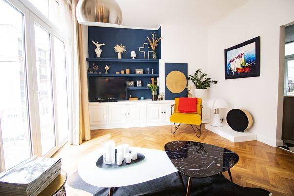 Feestzaal verhuren in Brussel, Brussel, In het appartement van Alice & Thibaut 22255