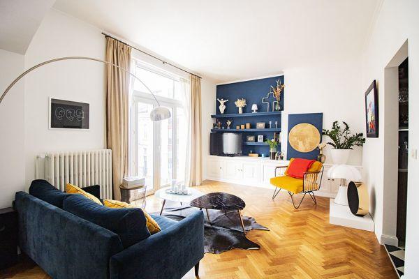 Feestzaal verhuren in Brussel, Brussel, In het appartement van Alice & Thibaut 22260