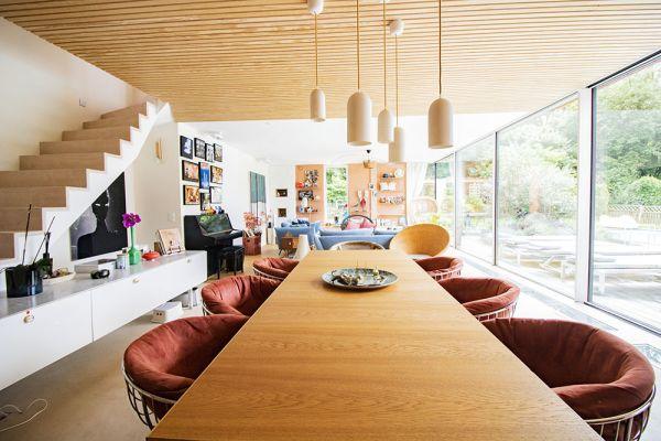 Photo d'une salle à louer à Uccle, Bruxelles, Dans la villa de Julie 22271