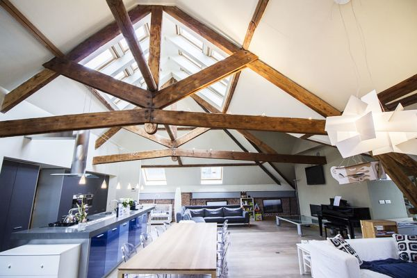 Picture of an event venue rental in Brussel, Brussels, Inside Charline's loft 220