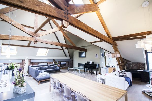 Picture of an event venue rental in Brussel, Brussels, Inside Charline's loft 221