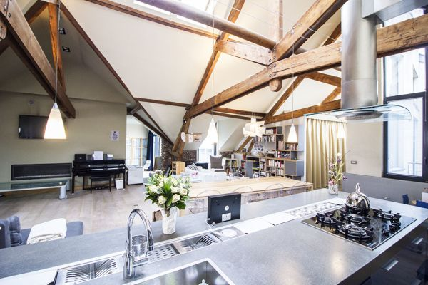 Picture of an event venue rental in Brussel, Brussels, Inside Charline's loft 223