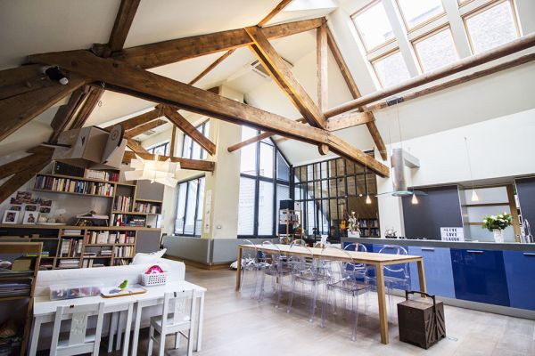 Picture of an event venue rental in Brussel, Brussels, Inside Charline's loft 225