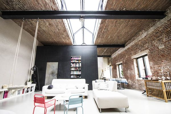 Picture of an event venue rental in Molenbeek-Saint-Jean, Brussels, Inside Nathalie's loft 342