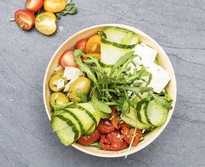 Photo menu Salade fraîche à la grecque